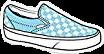 vans checkers checkerd blue white freetoedit