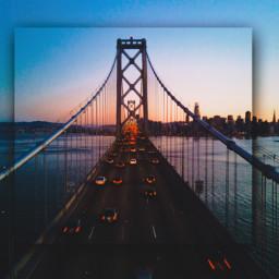 freetoedit bridge cars road filmeffect