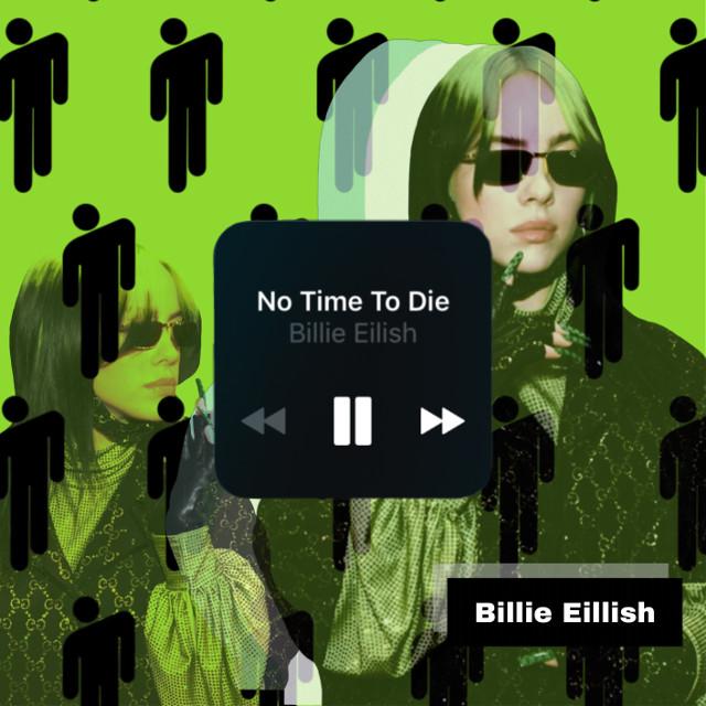 #freetoedit #billieeillish#song#green#likeplz#follow