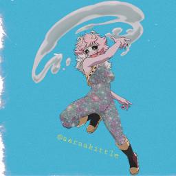 minashido myheroacademia bestgirl anime glitter