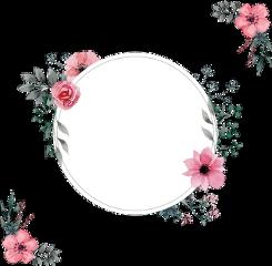 spring invitations flowers frame frameart freetoedit