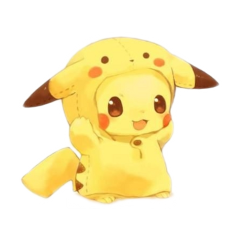 freetoedit pikachu