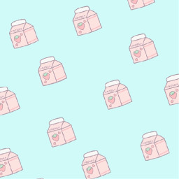 strawberry milk strawberrymilk kawaii pixel freetoedit