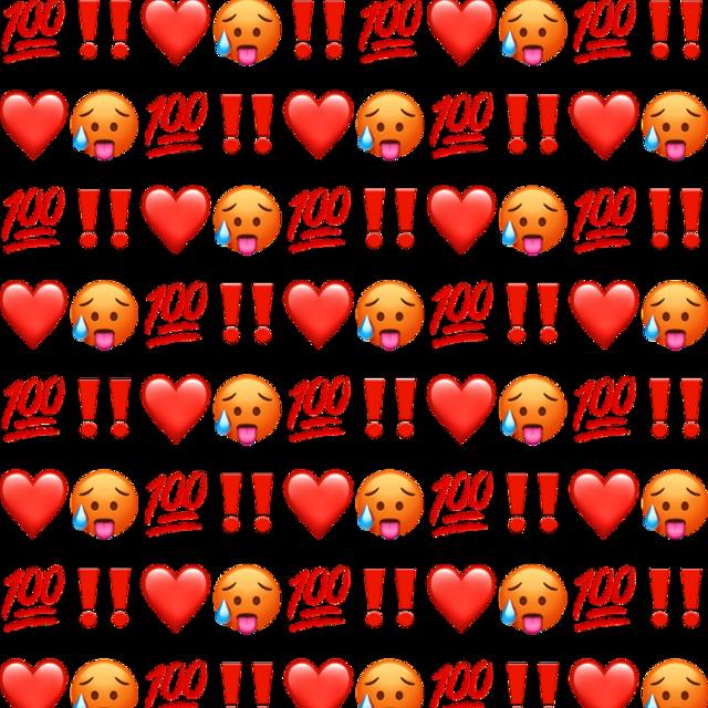 #redemoji #background #red #emoji #freetoedit