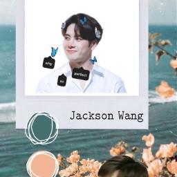 jacksonwang kpop got7 freetoedit