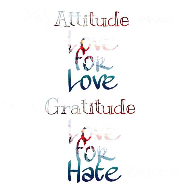 #text #atitude #love #gratitude #Hate #Word #freetoedit