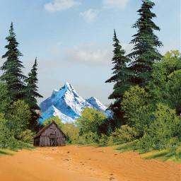 freetoedit backgrounds bobross landscape myedit
