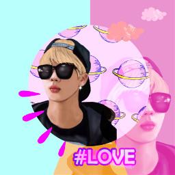 freetoedit picsart replay art kpop jimin mydrawing createfromhome pink mycreature remix remixit