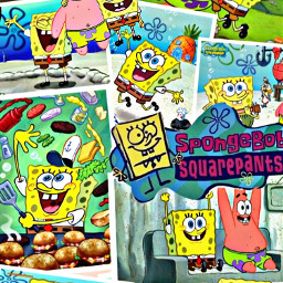 edit spongebob patrickstar bffs cute freetoedit