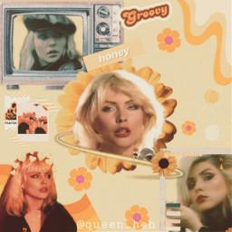 blondie debbieharry yellow yellowaesthetic aesthetic freetoedit