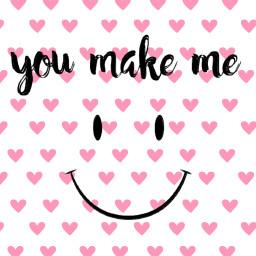 youmakemesmile keepsmiling smileeveryday smile smiling freetoedit