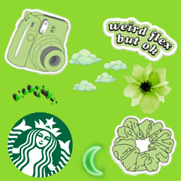 green aesthetic freetoedit