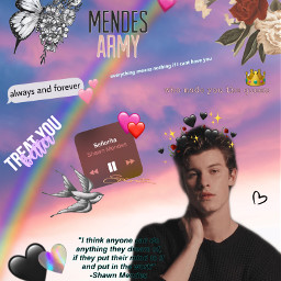 mendesarmy shawn shawnmendes whomadeyouthequeen treatyoubetter freetoedit