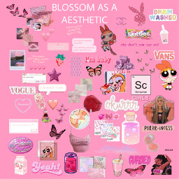 pink dramaticgirl richgirl blossom powerpuffgirls freetoedit
