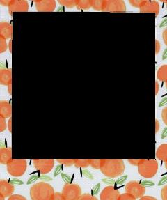 polaroid aesthetic orange peach summer freetoedit