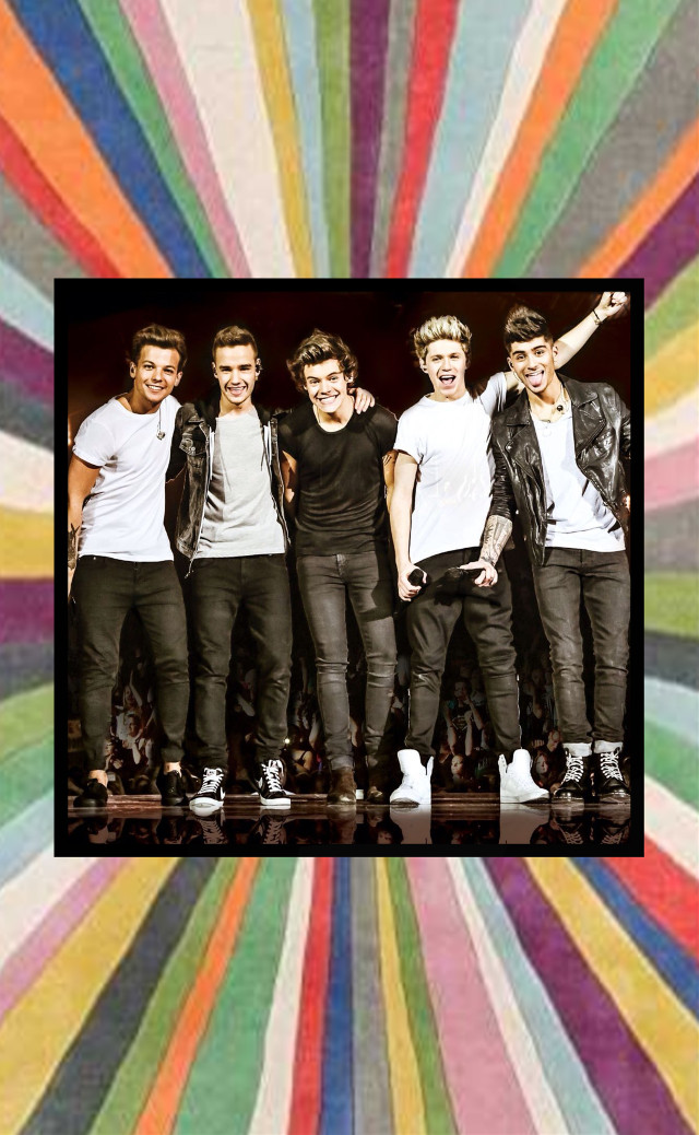 #freetoedit #onedirection #rainbow #theboys