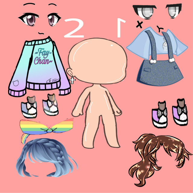 Pick one of the outfits and leave a comment #freetoedit