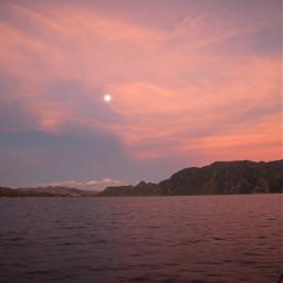 sky sunset freetoedit pink nature