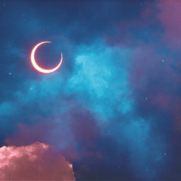 freetoedit skybackground cloudsbackground natural moon