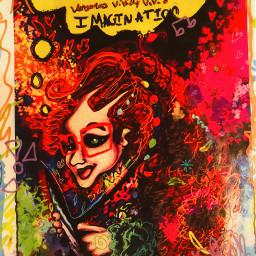 myart print artprint comicbook vengoria freetoedit