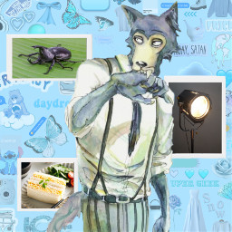 beastars interesting beach anime animeedit freetoeditedit freetoedit
