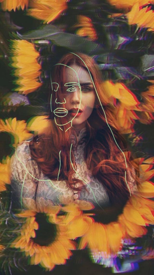#girasol🌻 #girl #redhair #power #mistery #lovely #forest