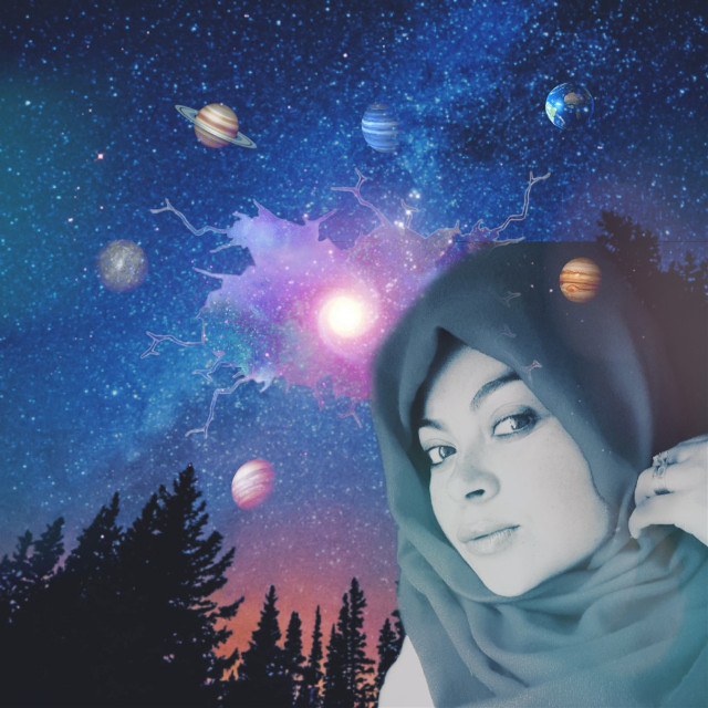 #freetoedit #planets #happy #witch