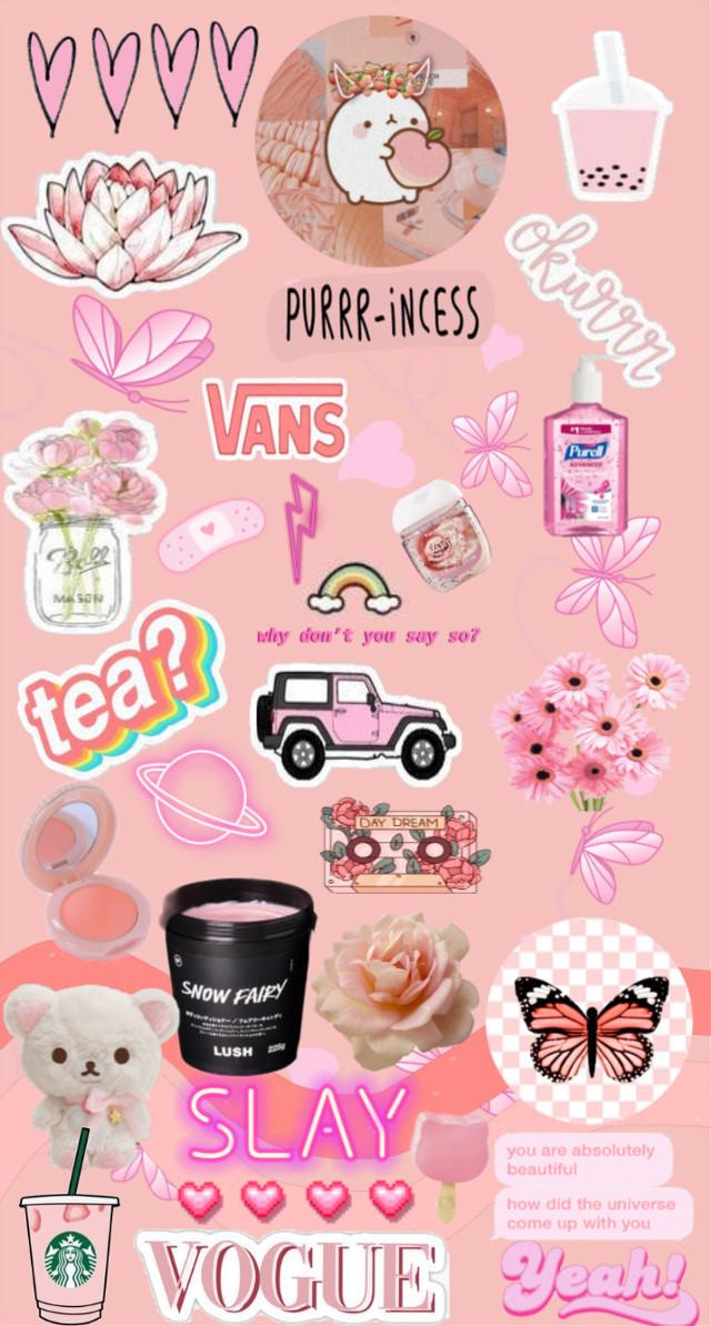 #freetoedit pink asthetic