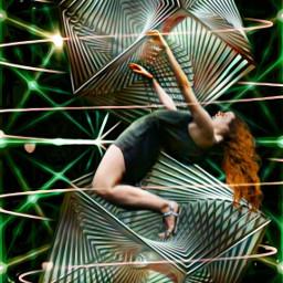 cubes surreal digital dance freetoedit