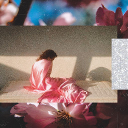 freetoedit art aesthetic pink spring