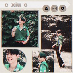 freetoedit kpop korean exo exoxiumin