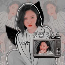 freetoedit remixit hwasa mamamoo kpop