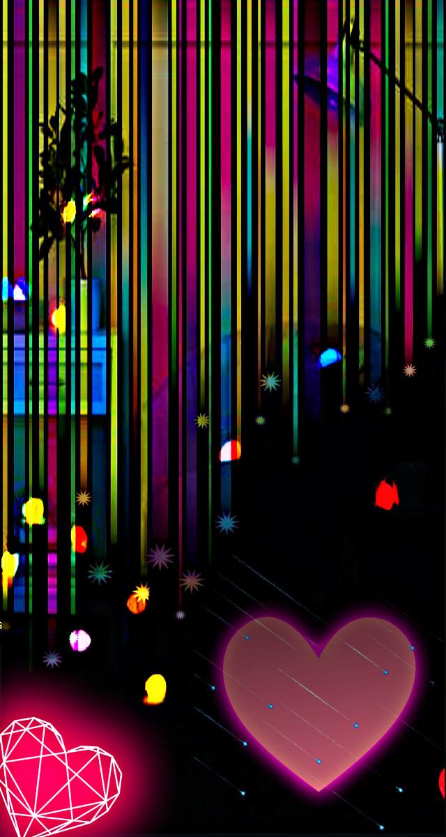 #freetoedit #neon #bright #doubleexposure #overlayeffect #hdreffect #remixed #hearts