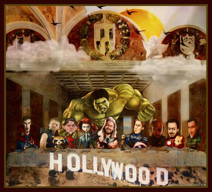 Edit by: Parietal Imagination Art  @pa #lastsupper #avengers #marvel freetoedit #hollywoodsign #remixofmyremix #originalbyme #originaledit #remix #vip #madewithpicsart #parietalimagination