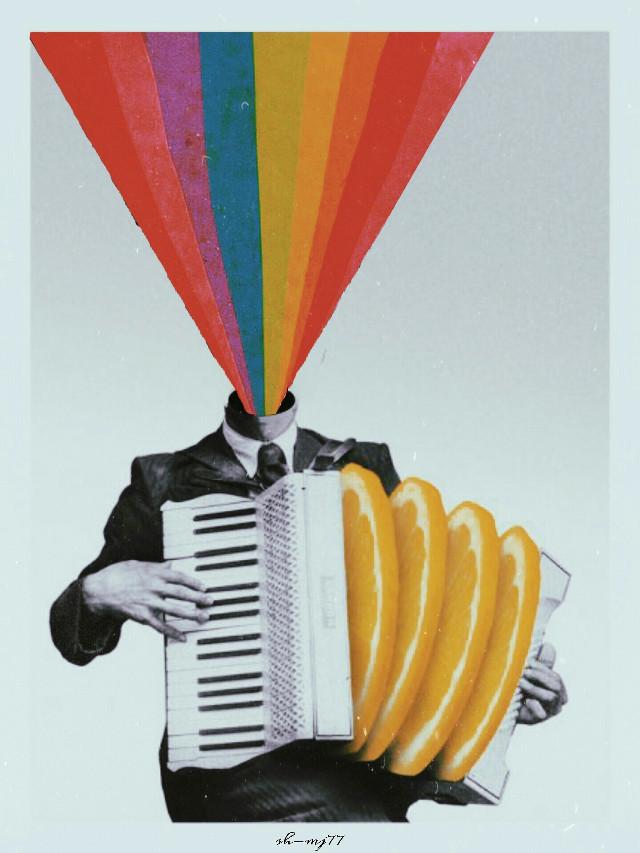 #freetoedit#rainbow#man#papicks #collageart##aesthetic#music#be_creative