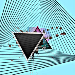 freetoedit triangles lines shapes