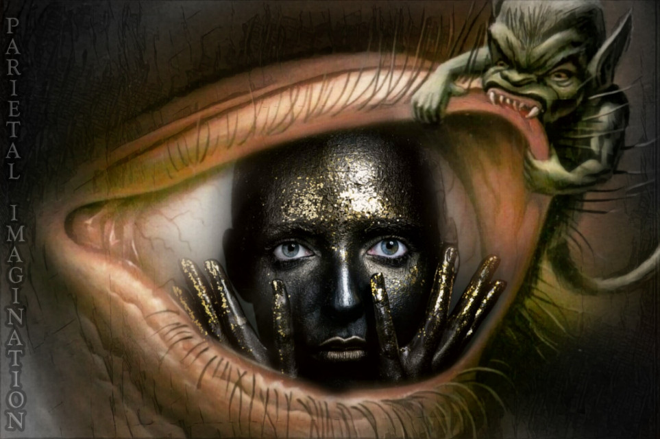 Edit by: Parietal Imagination Art  @pa #eye #monster #fear #freetoedit #darkness #inside #fx #vip #madewithpicsart #parietalimagination