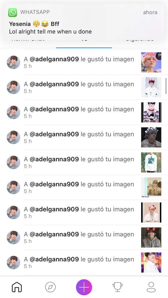 Pls don mind the message thank you 💜💜💜💜🥺 @adelganna909