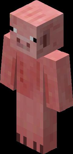 pigman minecraft minecraftpig pig zombiepigman freetoedit
