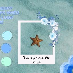 stars blue blueaesthetic stayhome freetoedit