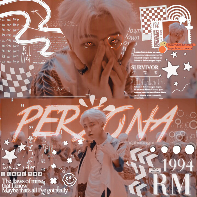 persona ! who the hell am i ? #bts #rm #persona #edit   #freetoedit