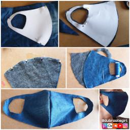 freetoedit diy tuto masque tissus