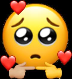 emoji timide emojitimide freetoedit