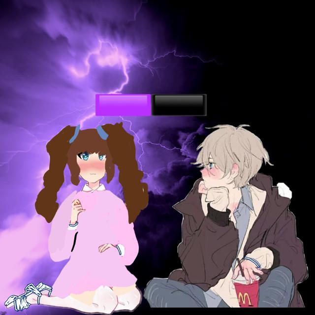 Making anime couples #freetoedit