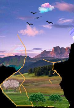 freetoedit cutout sketcheffect head scenery sceneryinhead ircsilhouette silhouette createfromhome stayinspired