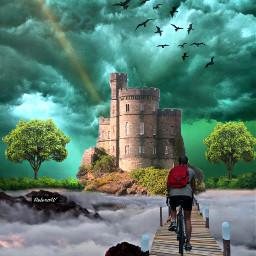 landscape fantasy imagination stayinspired surreal freetoedit