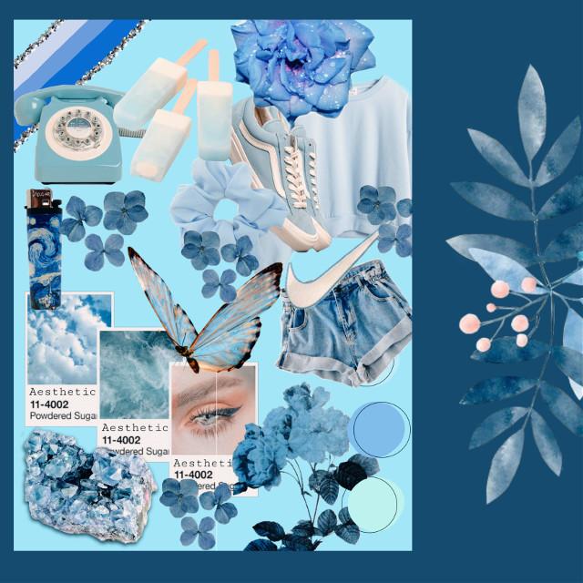 #freetoedit #blue #blueaesthetic #moodboards #bluemoodboard