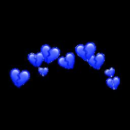 heart blue bluehearts cute sad freetoedit