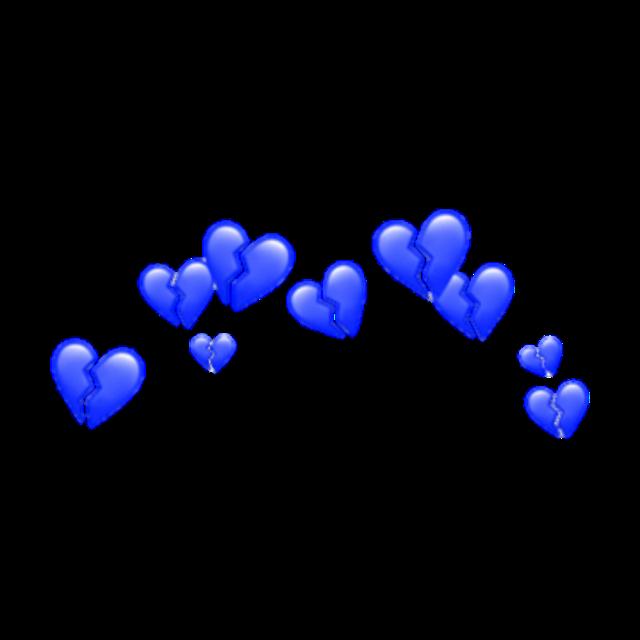 ##heart #blue #bluehearts #cute #sad