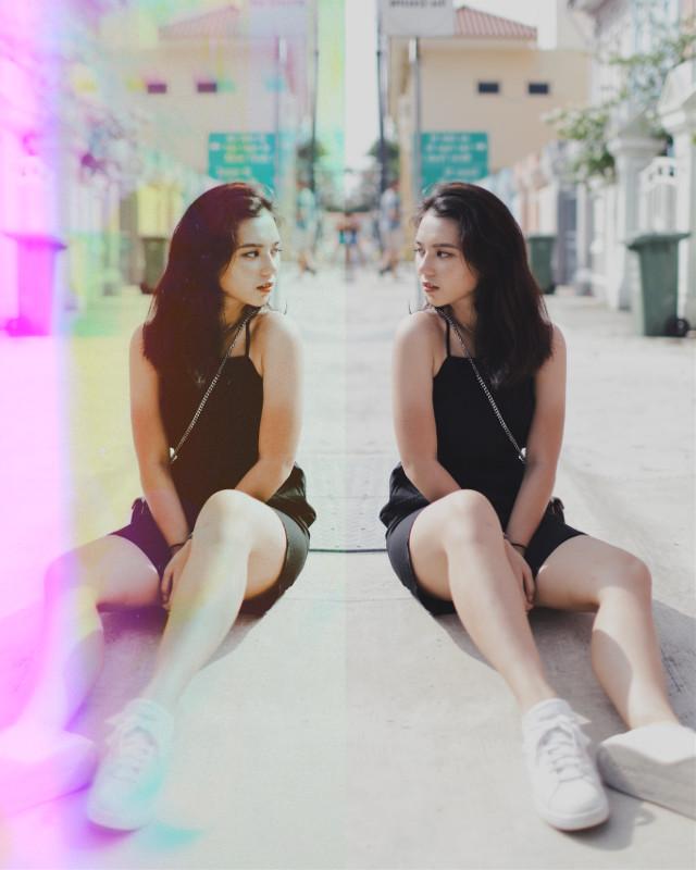 #freetoedit #mirror #mirroreffect #vinyl #vintage #glitch #halfandhalf
